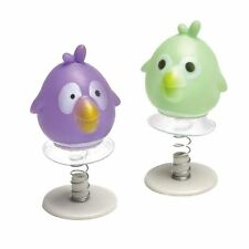 4pk Funky Bird Jump Ups Favour Birthday Event Party Loot Bag