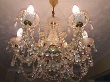Vintage Crystal Chandelier Elegant Very good condition fabulous