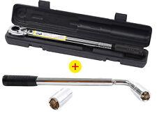 Radmutternschlüssel 17/19+21/23 mm + automatischer Drehmomentschlüssel 10-210 Nm