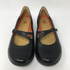 33a322c8f3542 Clarks Unstructured  33367  Black Leather UN.CAP Mary Jane Shoes Women s  Size