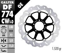 Galfer -Ducati 848 Evo '12-13 - Floating Wave Rotor -Left Front Brake- DF774CWI
