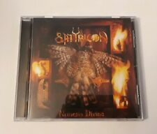 Satyricon Nemesis Divina CD 1996 Moonfog FOG 012 RARE BLACK METAL