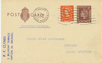 "GB POSTMARK-ERROR: ""BOGNOR REGIS / SUSSEX"" machine postmark with INVERTED DATE"