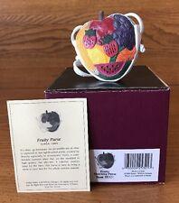 Raine Just the Right Shoe Purse Fruity Coa Box 25321