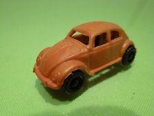 VINTAGE PLASTIC -   VW VOLKSWAGEN BEETLE  - 1:77 ?    4.7CM  -  GOOD CONDITION