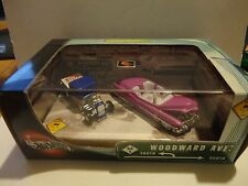 Hot Wheels Collectibles 100% Woodward Ave.  2 Car Set