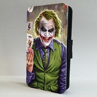 Joker Batman The Dark Knight JLA FLIP CASE COVER IPHONE 7 8 X XR XS MAX 11 PRO