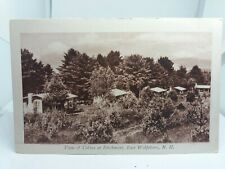 Vintage Postcard View of Cabins at Birchmont East Wolfeboro New Hampshire USA
