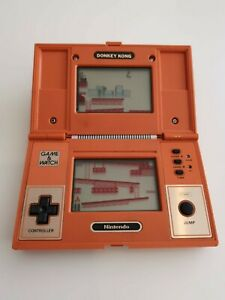 Nintendo Donkey Kong Game & Watch (working order but missing top case sticker)