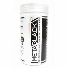 Metablack M3 - 60 Capsule - High Potency Multi Stage Fat Metaboliser on