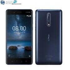 BRAND NEW NOKIA 8 64GB DUAL SIM 4G LTE 4GB RAM SMARTPHONE UNLOCKED BLUE