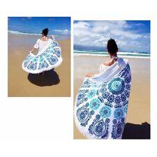 Round Hippie Tapestry Roundie Beach Towel Yoga Mat Throw Indian Mandala