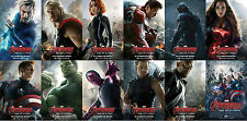 Post Card (12pcs) Avengers Age of Ultron Water Proof Gloss Photo Paper Material
