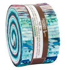 "Robert Kaufman Artisan Batiks Reflections 2 Roll Up/Jelly Roll - 40 2.5"" Strips"