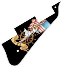 Pickguard Pick Guard Graphical Scratchplate Gibson Les Paul Guitar PU USA Pat BK