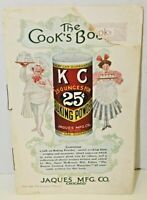 1916 The Cook's Book KC Baking Powder Jacques Mfg. Co Chicago Recipe Booklet