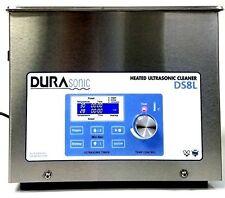 New DuraSonic 8 Liter / 2.1 Gallon Digital Ultrasonic Cleaner, with Basket