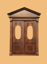 Dollhouse BANCROFT DOUBLE DOOR, NEW WALNUT