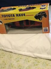 TOYOTA RAV4 R/C TRUCK TOY , WiRELESS FULL FUNCTION REMOTE CONTROL,1:20,R ED,NEW