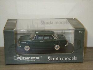 Skoda 1000MB - Abrex 1:43 in Box *49860