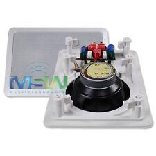 "PBX PowerBass® HOME AUDIO MC-6.5W 6.5"" 2-Way CINEMA THEATER IN-WALL SPEAKERS NEW"