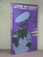 1st,signed by editor,Worlds Apart:Interplanetary Fiction ed by George Locke(1972