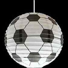 BOYS KIDS BEDROOM FOOTBALL LIGHT SHADE