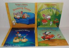 NEW TOOPY AND BINOO 4 STORY BOOKS SNEEZING - GOES BANANAS - THE BIG RACE - STORY