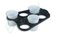 6 Cup Vending Drinks Carry Tray Holder Ideal For Hot Drinks - Fast Dispatch