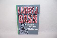 LARRY J. BASH Comment j'ai enquêté assassinat LIEUTENANT X Bibliotheque verte 2