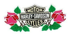 Harley Davidson Sticker Bar + Shield Roses 12x5cm Decal HD Car Motorcycle Decor