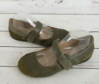Ruff Hewn Women's Leather Brown Mary Jane Shoes Size 9.5M RuffHEWN