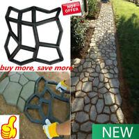 Path Maker Driveway Walk Pavement Paving Mold Patio Concrete Stone Stepping Mold