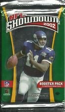 Nfl showdown 2002 gcc-booster pack
