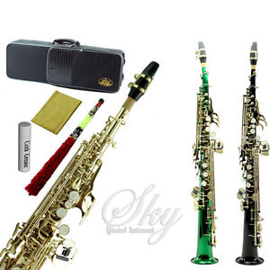 SKY Band Approved Soprano Saxophone w High F# Key Guaranteed Quality Sound!
