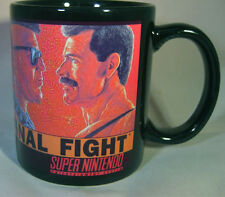 FINAL FIGHT - Black Coffee MUG - CUP - Capcom