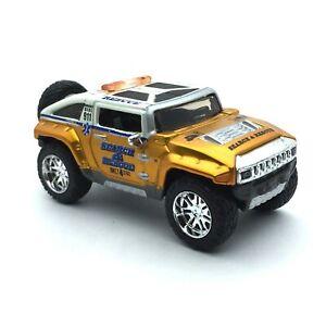 Maisto All Stars Rescue Force Hummer HX Concept SUV Copper Die Cast 1/64 Loose