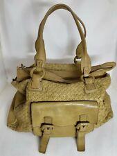 Zeden  Genuine Leather Woven Shoulder Bag Authentic