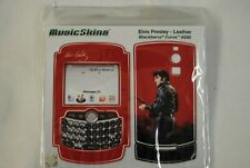 ELVIS PRESLEY LEATHER BLACKBERRY CURVE 8330 MUSIC SKIN COVER NEW OFFICIAL RARE