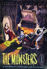 Aurora The Munsters Living Room Model Box Sticker or Magnet