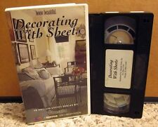 DECORATING WITH SHEETS House Beautiful slipcovers Peggy Kennedy VHS how-to 1992