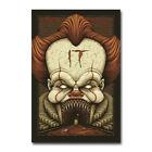 IT Hot Movie Art  Comic Silk Canvas Poster Wall Art Print 12X18 20x30 inch