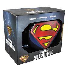 Oficial Dc Comics logotipo de Superman en forma taza cerámica Café Té