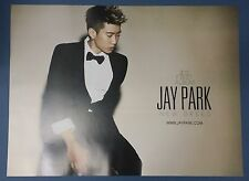 Jay Park  - New Breed OFFICIAL POSTER *HARD TUBE CASE* UNFOLD