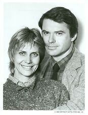 ROBERT URICH CINDY PICKETT PORTRAIT AMERIKA ORIGINAL 1987 ABC TV PHOTO