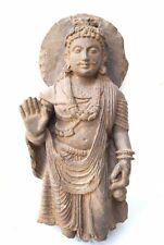 Buddha Statue Gandhara Style Rare Bodhisattva Figure Enlightenment Meditation