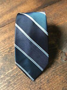 Herbed of Paterson New Jersey Men's Necktie-Tie-Fashion Accessory-Blue-Striped