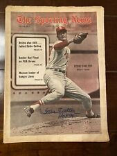 August 30, 1969 The Sporting News Steve Carlton St. Louis Cardinals Autograph