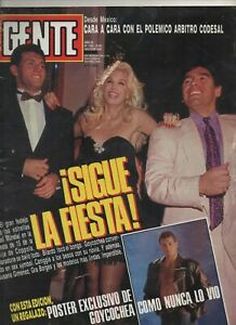 DIEGO MARADONA & SERGIO GOYCOCHEA RARE MAGAZINE ARGENTINA ITALY 1990