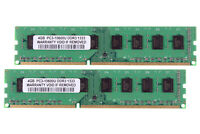 8GB 2X 4GB PC3-10600U DDR3-1333MHz Memory For Dell Optiplex 380 390 580 790 990